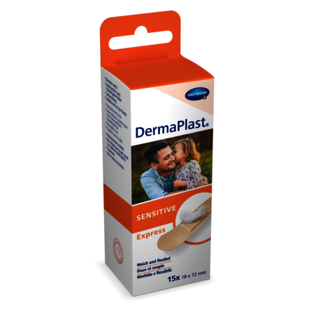 [Translate to Italienisch:] Packshot DermaPlast® Sensitive Express