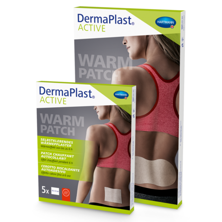 Packshot DermaPlast® Active Warm Patch