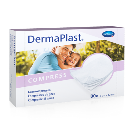 [Translate to Italienisch:] Packshot DermaPlast® Gazekompressen