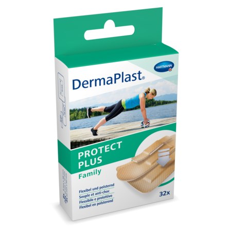[Translate to Italienisch:] Packshot DermaPlast® Sport Family