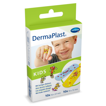 Packshot DermaPlast® Kids Strips