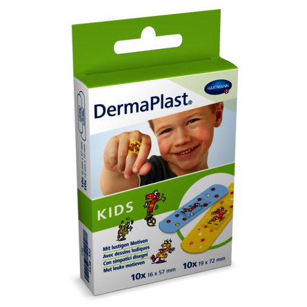 [Translate to Italienisch:] Packshot DermaPlast® Kids Strips