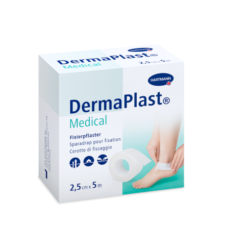 Packshot DermaPlast® Medical Sparadrap pour fixation