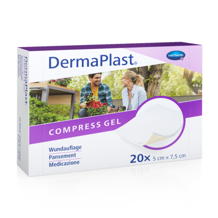 [Translate to Italienisch:] Packshot DermaPlast® Comprigel