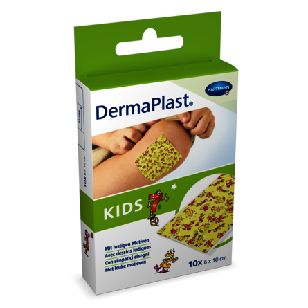 [Translate to Italienisch:] Packshot DermaPlast® Kids 6x10cm