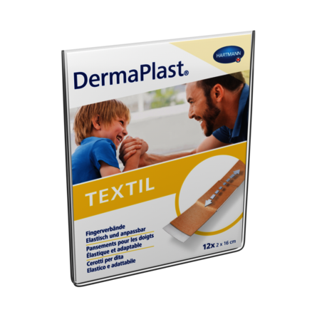 Packshot DermaPlast® Textil pansements digitaux